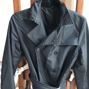 Theory black belted trench